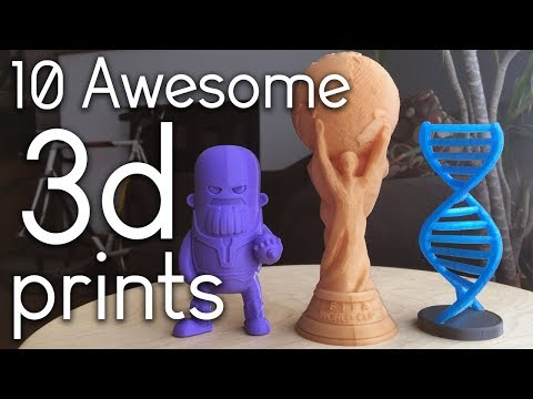Awesome 3D Prints TimeLapse episode 5 (Prusa Mk3 Creality Ender 3 )