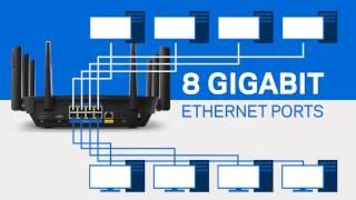 Linksys EA9500 Max Stream AC5400 MU MIMO Gigabit Router VID (English)