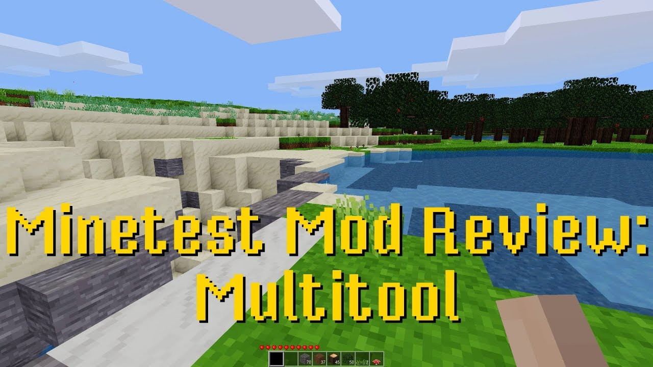 Minetest Mod Review: Multitool