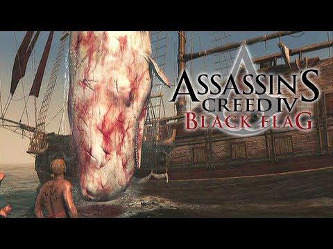 Assassins Creed 4 Blackflag - Caçando a Baleia Branca