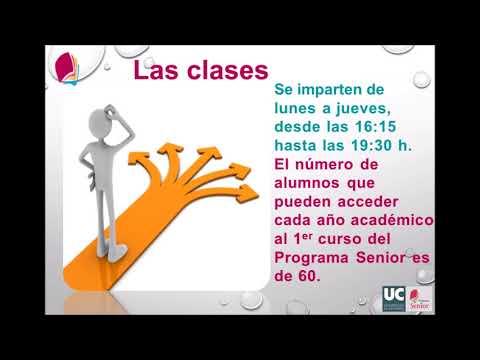 Programa Senior Universidad de Cantabria Curso 2018-2019