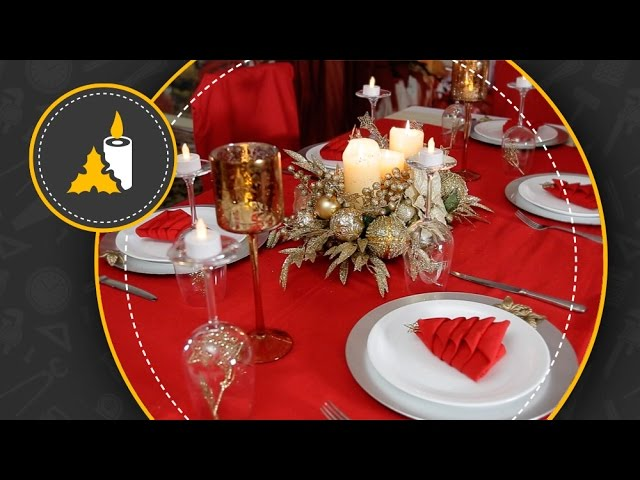 Decorar La Mesa Para La Cena Navideña Youtube