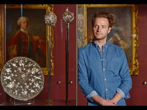 Outlander actor Andrew Gower visits Bonnie Prince Charlie and the Jacobites