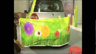 Hexis Vehicle Wrapping Demo