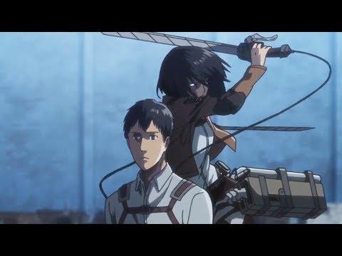 Mikasa Vs Bertholdt - Shingeki No Kyojin Season 3 Part 2 - AMV