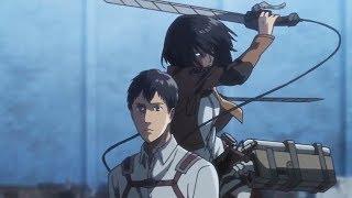 Download Video Mikasa Vs Bertholdt - Shingeki no Kyojin Season 3 Part 2 - AMV MP3 3GP MP4