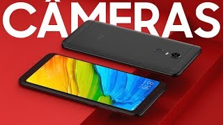 O Xiaomi Redmi 5 Plus tem CÂMERAS BOAS? Vamos conferir?    gtech