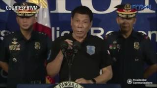 Duterte to EU, US: Withdraw aid, we will survive