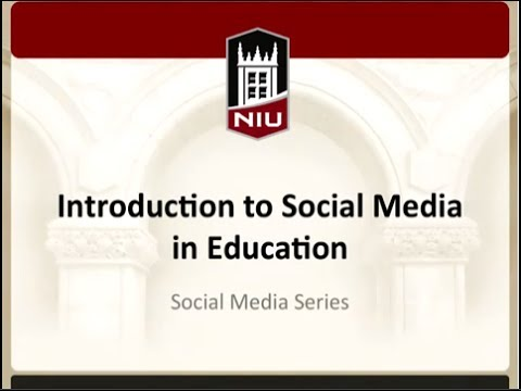 Social Media Series: Introduction to Social Media in Education