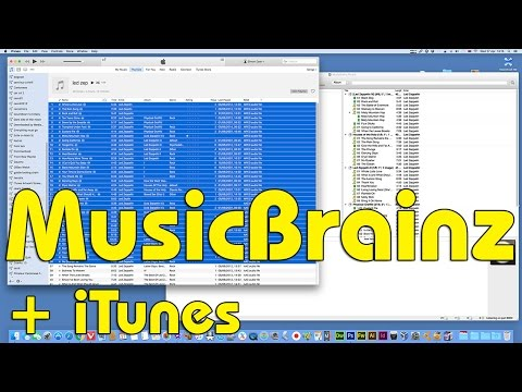 Using Musicbrainz Picard directly with your iTunes library No.2