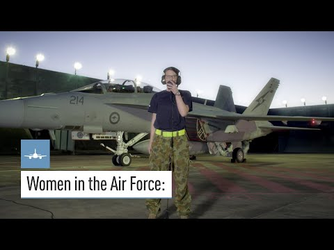 Women in the Air Force - Defence Jobs Australia