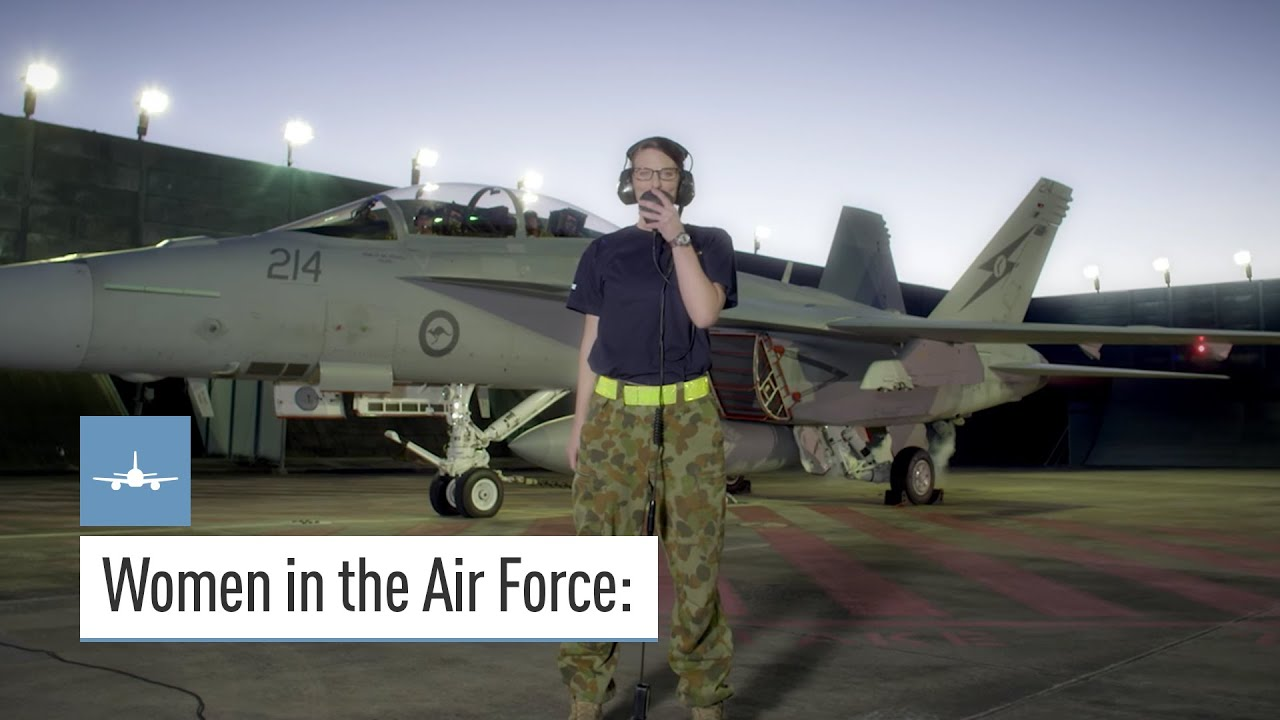 women in the air force defence jobs