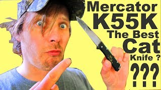 You'll never believe the Insane hidden history of the Mercator K55k Cat Knife Review!?