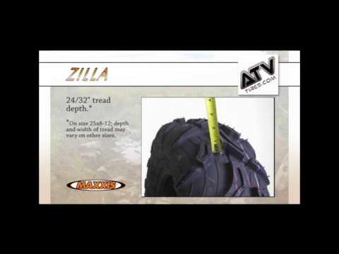30-9.00-14 Maxxis Zilla MU01 6 Ply ATV Tire Size