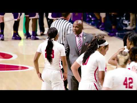 Ole Miss Women's Basketball: Mic'd Up • Coach Porcha vs. Northwestern State (11-10-17)