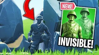 DELOR INVISIBLE WITH THE NEW SKIN FORTNITE! (Little Soldier) 🔥 THE BEST OF FORTNITE #175