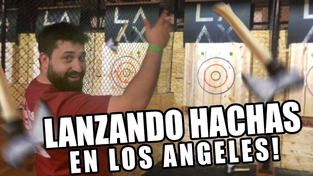 Lanzando Hachas en Los Angeles! | LA-AX | JuanMa Paradiso