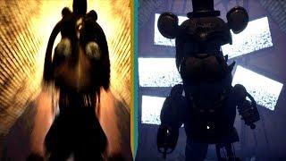 AGGRESSIVE BURNT ANIMATRONICS! Final Nights 4 Demo v2