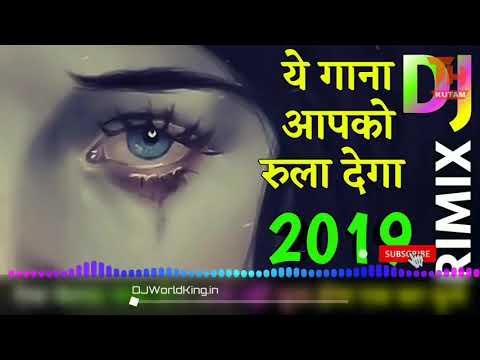 Tere Dard Se Dil Aabad Raha Jhankar Ghazal Dj Remix Song 2019 ! Bewafa New Nagpuri Style Hindi 2019