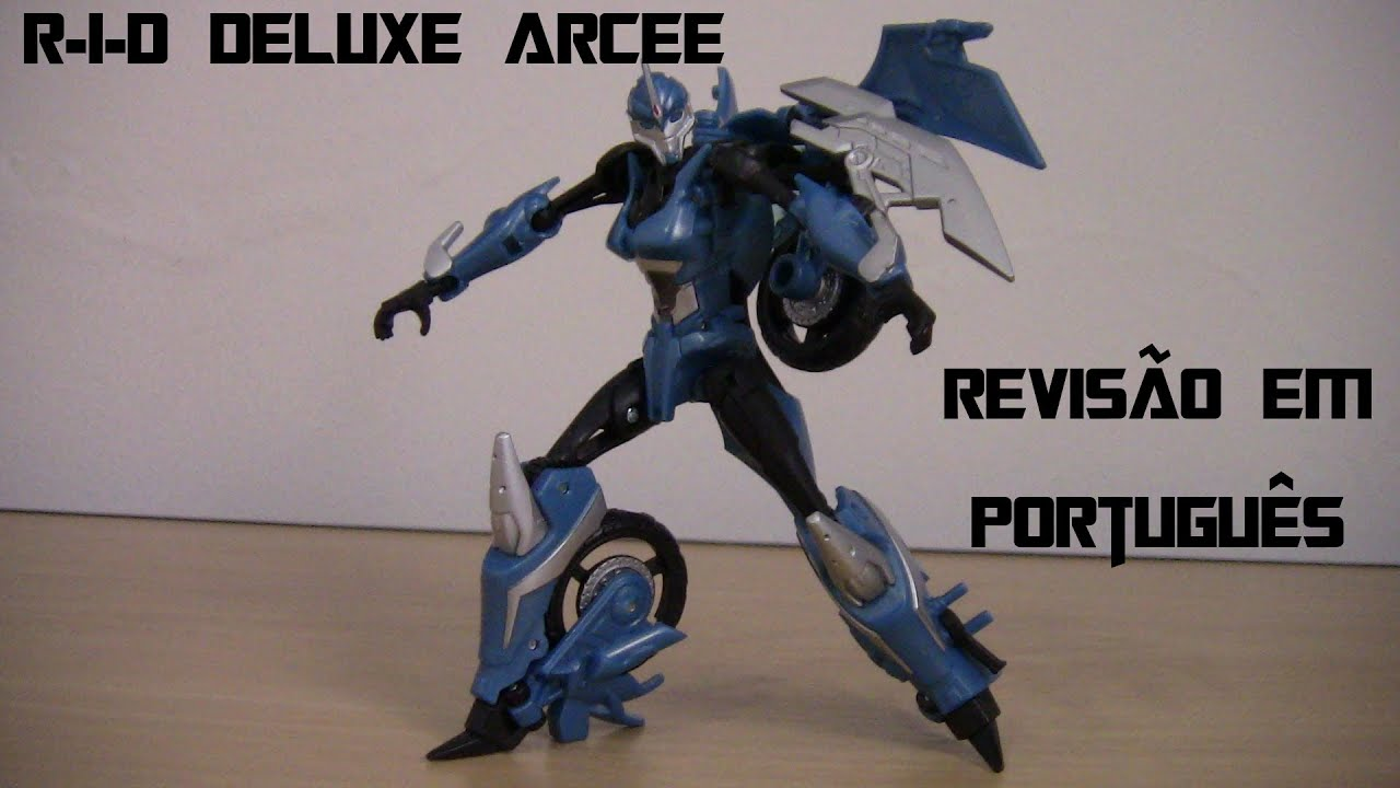 rid deluxe arcee transformers prime revis227o em