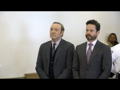 Kevin Spacey appears in court