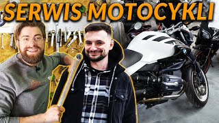PRACA MECHANIKA W SERWISIE MOTOCYKLI - gość Brzoza TV   DO ROBOTY