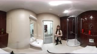 Обзор квартиры студии 26 кв. м |  360° видео