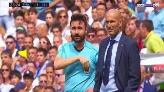Marcelo's expulsion in the game Real Madrid and puzzled Zidane! YouTube