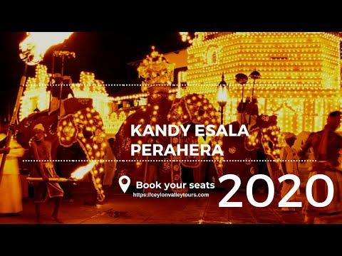 Kandy Esala Perahera 2020 | Kandy perahera