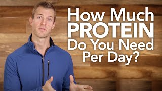 How Much Protein Do You Need Per Day?