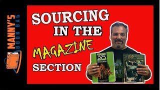 Finding Books and Magazines in the Magazine Section for Amazon FBA