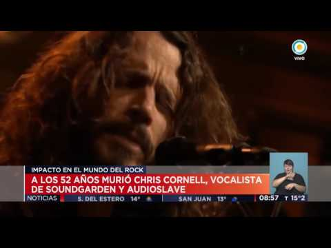 TV Pública Noticias - Murió Chris Cornell, vocalista de Soundgarden y Audioslave