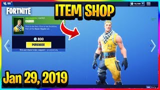 *NEW* CABBIE WHIPLASH SKIN IN FORTNITE! | FORTNITE ITEM SHOP! (Jan 29, 2019)