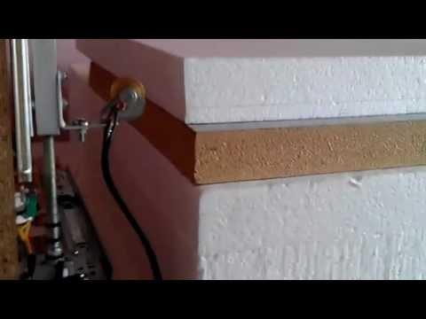 CNC-ul meu 4 axe de taiat polistiren cu arduino