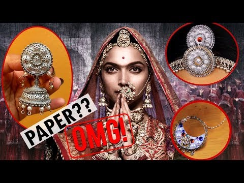 How to make PADMAVATI Jewelry at Home | DIY JEWELRY | SMITHADBEAUTY