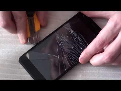 Как заменить тачскрин в домашних условиях на телефоне fly