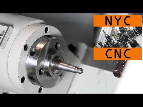 Turning, Facing & Threading on the Tormach CNC Lathe! Widget