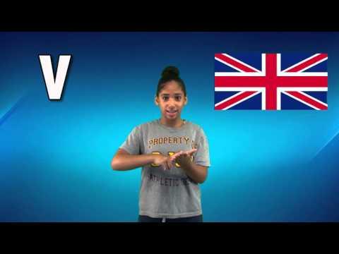 British Sign Language ABCs