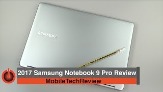 Samsung Notebook 9 Pro (2017) Review