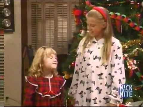Stephanie and Michelle - A Very Tanner Christmas - YouTube