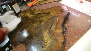 How To Finish A Guitar Project With Tru-oil. Inside The Luthier's Shop Video