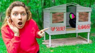 FOUND MYSTERY NEIGHBOR TOP SECRET BACKYARD SAFE HOUSE BUNKER !!!