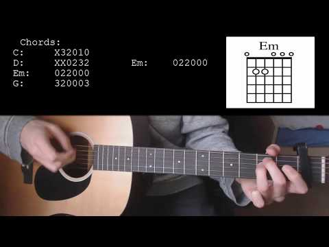 Sam Smith Ft. Normani- Dancing With A Stranger EASY Guitar Tutorial With Chords / Lyrics