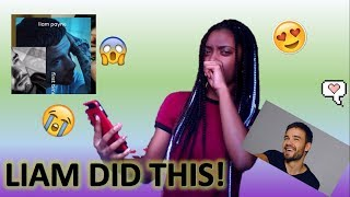 Reacting to Liam's First EP!   HE DID THAT!♡