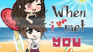 When I Met You In The Rain GLMM | Gacha Life Mini Movie | Gachaverse | Gacha Studio