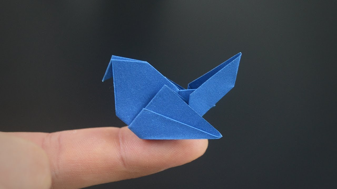Origami: Simple Pigeon Instructions in English (BR)