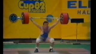 Blagoy Blagoev 195 kg Snatch World Record   World Cup 1982