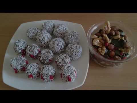 Raw Energie Balls - Rohkost Pralinen - Energiekugeln