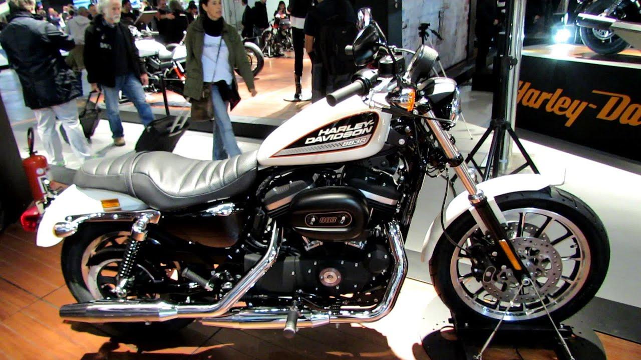 2014 Harley-Davidson Sportster 883 Roadster Walkaround - 2013 EICMA ...