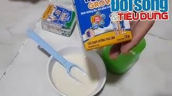 """Đời sống & Tiêu dùng - Khách hàng phát hiện sữa Nuvita Grow """"vón cục"""": NutiFood nói gì?"""